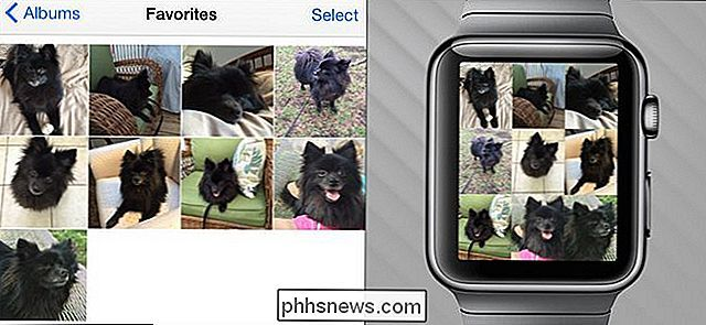 Slik synkroniserer du bilder med Apple Watch