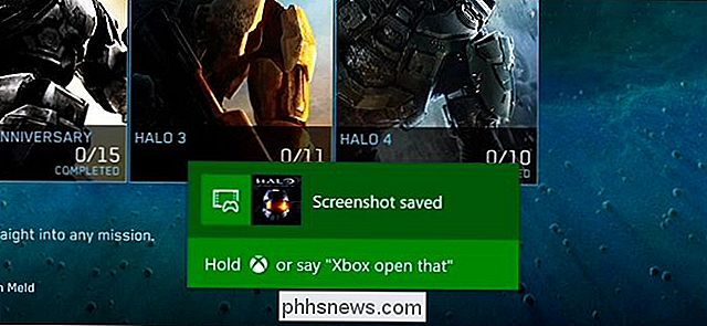 Screenshots maken en video's opnemen op een Xbox One