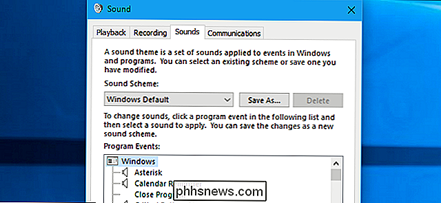 So deaktivieren Sie Sound-Effekte in Windows