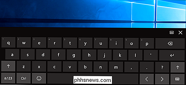 Sådan slukkes du Typing Sound på din Windows Surface Tablet
