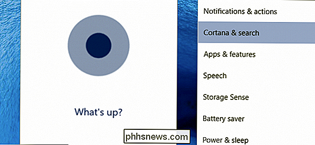 Hoe u 'Hey Cortana' in Windows 10