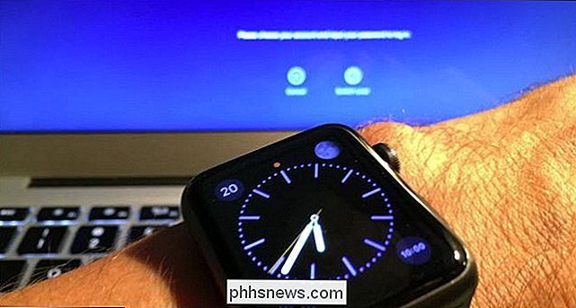 Hur man låser upp MacOS Sierra med din Apple Watch