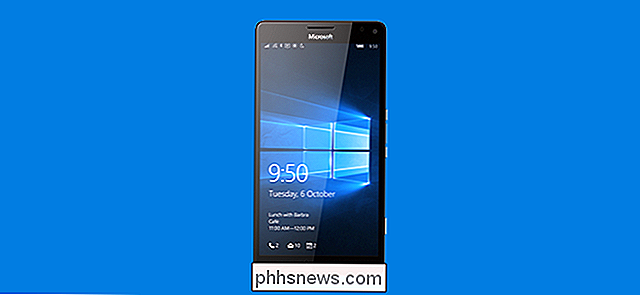 Uw Windows Phone upgraden naar Windows 10 Nu