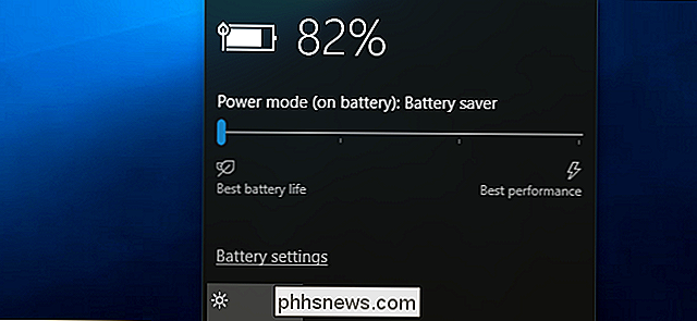 Comment utiliser et configurer le mode «Battery Saver» de Windows 10