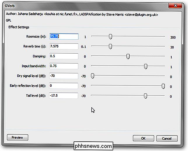 Como usar atraso, eco e reverberação no Audacity - pt