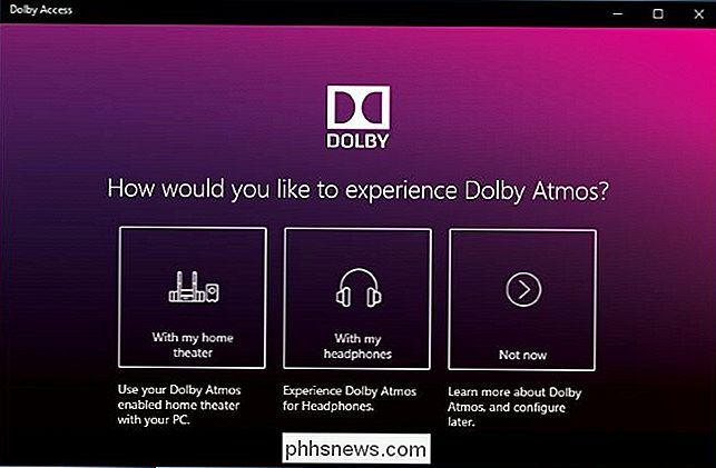 Come usare Dolby Atmos Surround Sound su Windows 10 - it