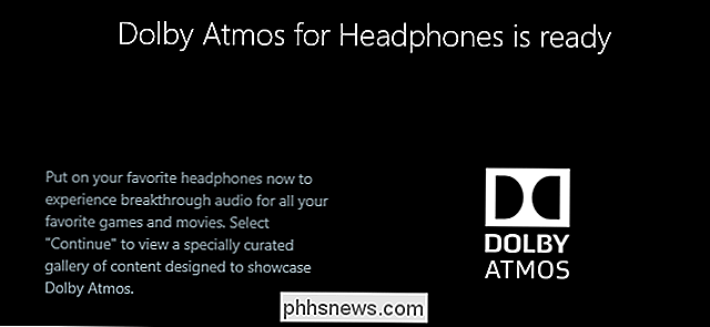 Come usare Dolby Atmos Surround Sound su Windows 10