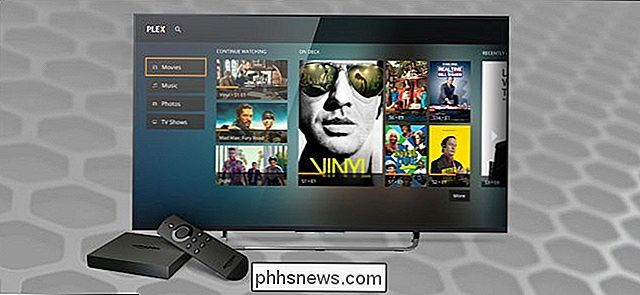 Como usar o Plex no seu Amazon Fire TV e TV Stick