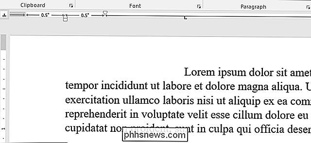 Come utilizzare i righelli in Microsoft Word