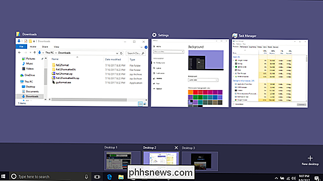 Come utilizzare i desktop virtuali in Windows 10
