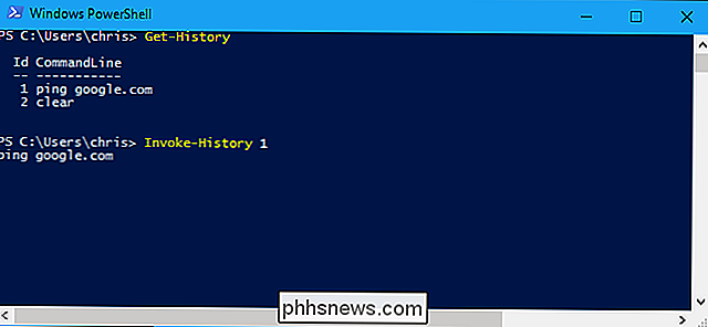 Como usar o histórico de comandos no Windows PowerShell