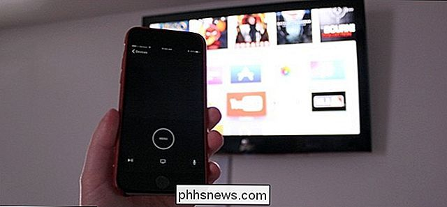 Hoe u uw iPhone of iPad als Apple TV Remote
