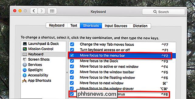 Como usar a barra de menu do seu Mac sem tocar no mouse - pt