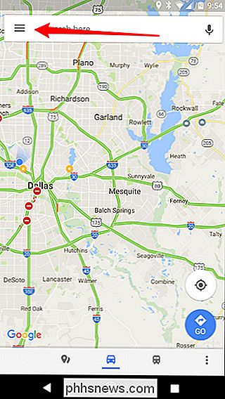 So zeigen Sie Ihren Google Maps-Verlauf auf Android und ...