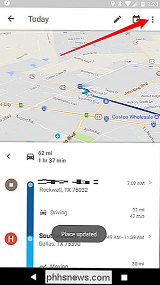 So Zeigen Sie Ihren Google Maps Verlauf Auf Android Und Iphone An