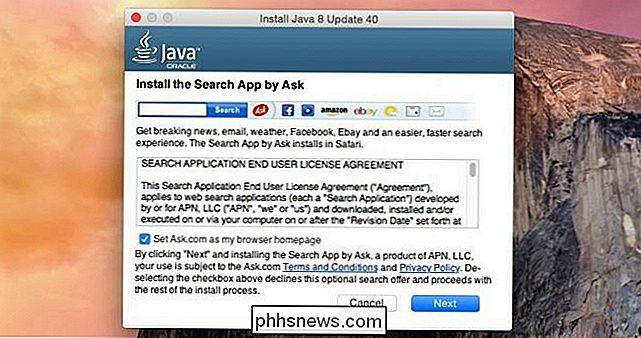 Java Sur Os X Est Un Bundling Crapware Voici Comment L Arreter