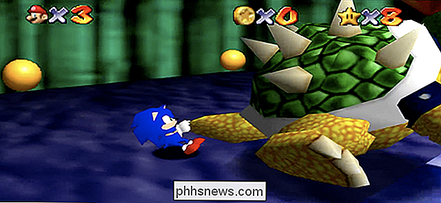 Den mest vidunderligt dumme Sonic the Hedgehog Fan Games