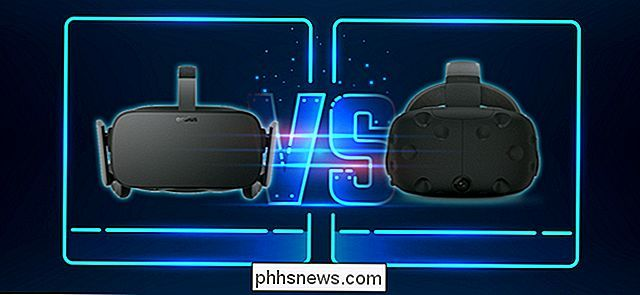 Oculus Rift vs. HTC Vive: ¿Qué auriculares VR son adecuados para usted?