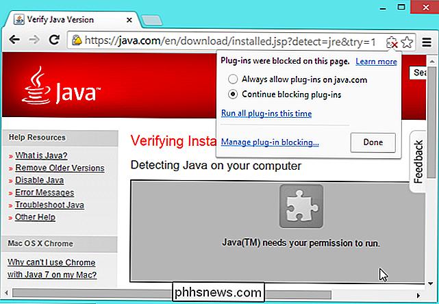 Oracle non può proteggere il plug-in Java, quindi perché è