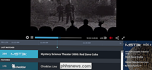 Pluto.TV trae Channel Surfing a Cord Cutters-gratis