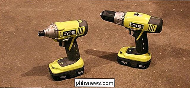 Power Drills vs. Impact Drivers: wat is het verschil?