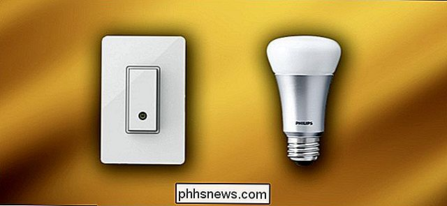 Smart Light Switches vs Smart Light Bulbs: Vad ska du köpa?