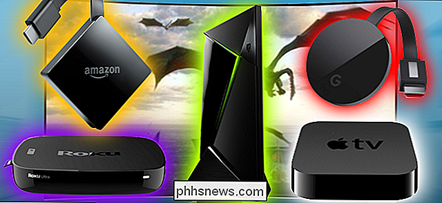 Streaming Box Showdown: Apple TV versus Roku versus Amazon Fire TV versus Chromecast versus Android TV