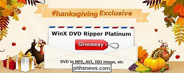 Thanksgiving Giveaway: Hämta WinX DVD Ripper Platinum Full Licens gratis [Sponsored]