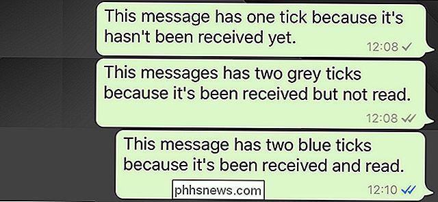 Häkchen blaue bei 2 whatsapp was bedeuten WhatsApp: Das