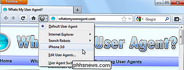 Wat is de user-agent van een browser?