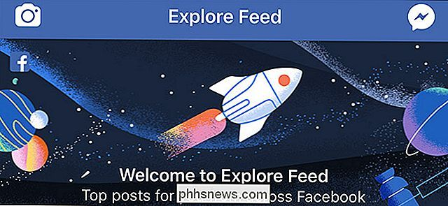"O que é o novo ""feed de exploração"" do Facebook?"