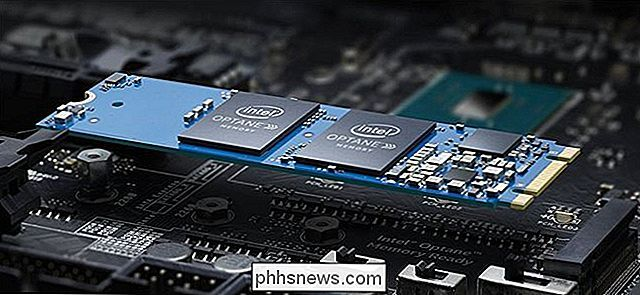 Co je to Intel Optane Memory?