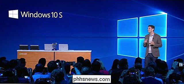 Che cos'è Windows 10 S e come è diverso?