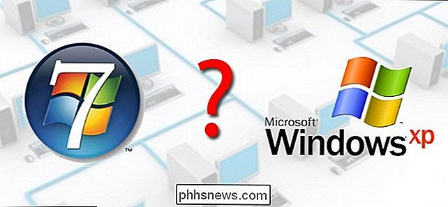 Wat is het verschil tussen Windows 7 HomeGroups en XP-Style Networking?