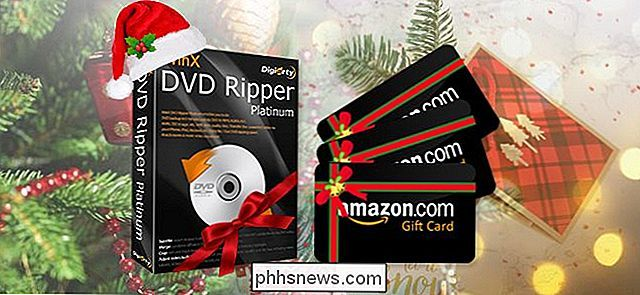 WinX DVD Ripper Xmas Giveaway och Amazon eGift Card Contest [Sponsored]