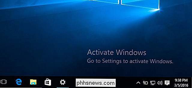 Non è necessario un codice Product Key per installare e utilizzare Windows 10