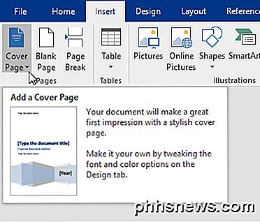 Fügen Sie Ein Deckblatt Zu Einem Word Dokument Hinzu Dephhsnewscom