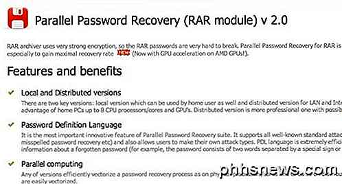 Come aprire file RAR protetti da password