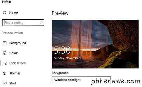 Slik laster du ned Windows 10 Spotlight / Lock Screen Bilder